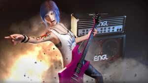 Let's Rock by DemonLeon3D