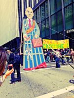 May Day SF: Corporate Puppet by Sunset-Trails