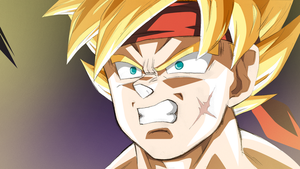 Bardock :PS Sketch: by moxie2D