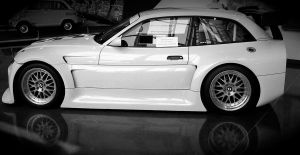 M coupe race car by Chadsmyslavename