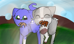 Indypaw and Pigeonpaw by Coral-is-Here