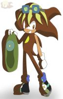 Apollo Sun - Sonic Riders Style by Flame-of-Icarus