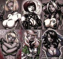 French Sketch Cards 4 by gb2k