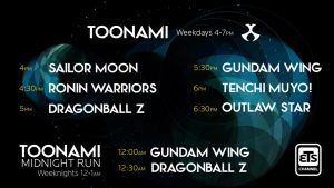 Toonami 2014 Lineup with Midnight Run Lineup by ETSChannel