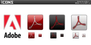 Adobe Acrobat Reader icons by MGQsy