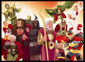 New Gods by BroHawk by gatchatom