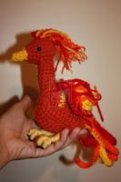 Phoenix Amigurumi by rdekroon