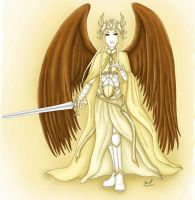 Archangel St Michael by Yeniel