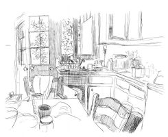 My kitchen by ModesteCabot