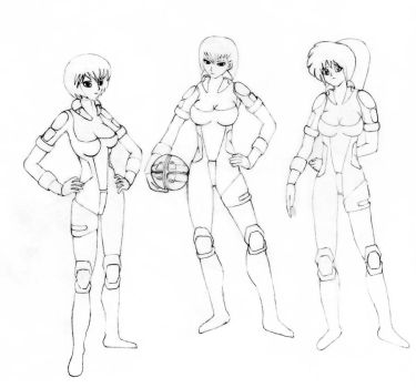 Armor Ball Team by jengames