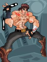 Nunchaku Kenshiro by The-Satsui