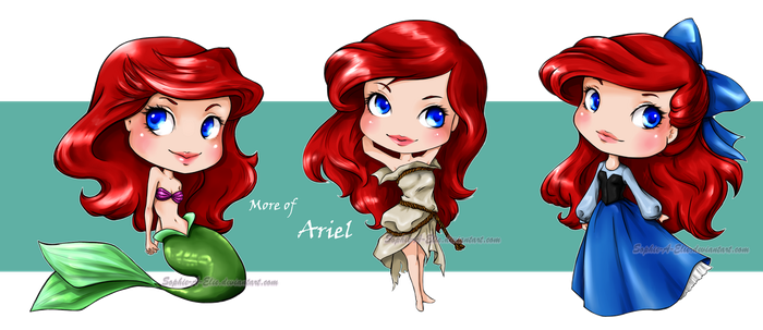 More of Ariel by sky-illuminated