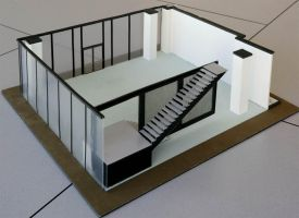 Architectural Museum Model by TimBakerFX