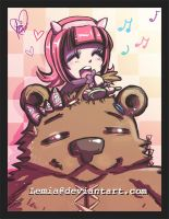 Annie Grooms Tibbers by Lemia