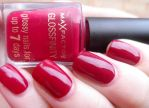 Max Factor Glossfinity - Red Passion by NailedItWithGlitter