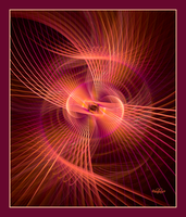 Spirographic Confusion in Red by baba49