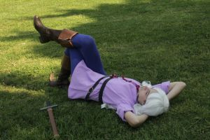Rest before the battle by MeiCosplay