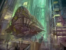 Spaceship by yonaz