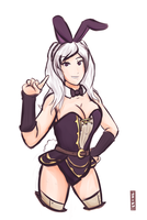 Bunny Robin Commission by Jo3mm