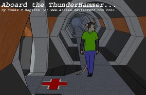Aboard the Thunderhammer -1- by Aliies