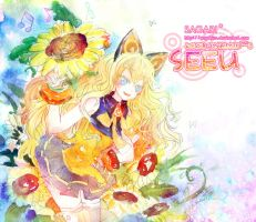 WATERCOLOR SEEU by sagabiro
