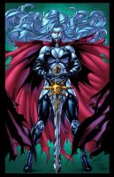 Lady Death Colors by CdubbArt