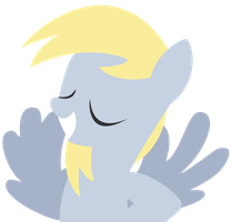 Derpy - Simplistic Style by Ironfruit