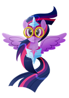 Masked Matter-Horn Twilight Sparkle by Ilona-the-Sinister