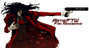 Alucard - Fan Render by ArtieFTW