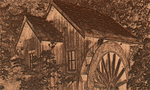 Old Mill Waterwheel by moonhigh