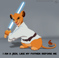 I am a Jedi by The-Hare