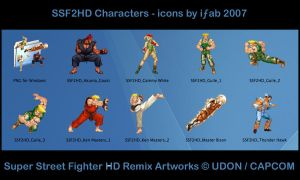 SSF2HD Remix - Icons by iFab