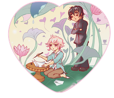 Xanthe and Linneus' Heart Preview by neko-productions