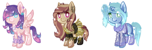 Pony Adoptables CLOSED by Points-adoptables-4U