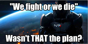 On the ME3 ending by HowlShep