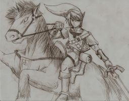 Link sketch by DonChan