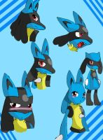 Lucario test by ss2sonic
