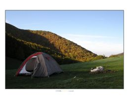 Wild Camping by tfsm