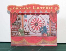 Grande Loterie - Vintage papercraft by SarienSpiderDroid