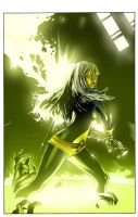 magik one shot cover Color by fernandocarvalho