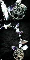 Amethyst, Rose Quartz, Custom Pendulum by TheAlluringPath