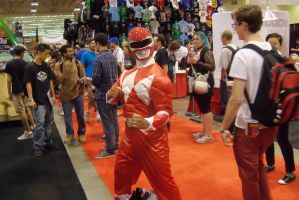 Red Ranger Cosplay by Dinalfos5