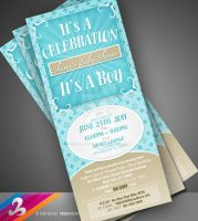 Baby Shower Invitation 3 by AnotherBcreation