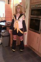 Kagamine Rin cosplay by SuperTitch