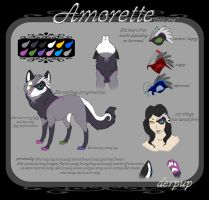 Amorette Ref by Derpup