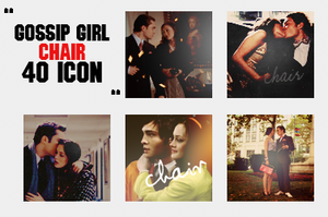Gossip Girl CHAIR icon pack by avadaxkedavra