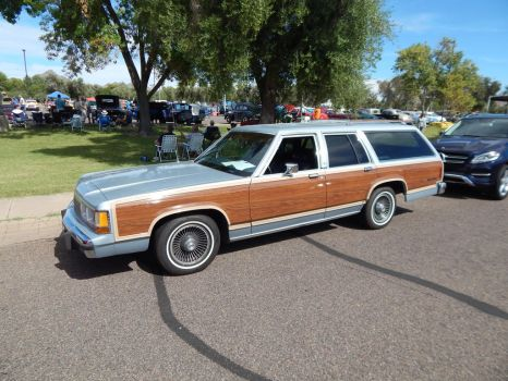 1990 Ford LTD Country Squire by TheHunteroftheUndead