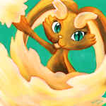 Pokemon Advent Challenge Day 1-Lopunny by Mokka-Quill