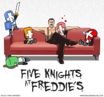 Five Knights at Freddie's by pierski