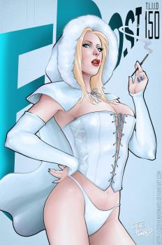 Week 150 Emma Frost Fables Homage by StevenHoward